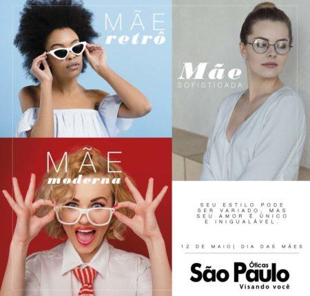 Dia das Mães Óticas São Paulo