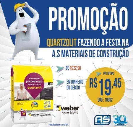 AS MATERIAIS DE CONSTRUÇÃO – Campanha Quartzolit
