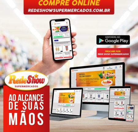 Rede Show – Lançamento do E-commerce